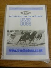 10/06/2017 Greyhound Racing Programme: Hall Green Dogs, Official Programme. Bobf