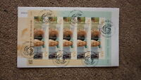 AUSTRALIAN FDC STAMP ISSUE FIRST DAY COVER, 1999 OLDER PERSONS MINISHEET