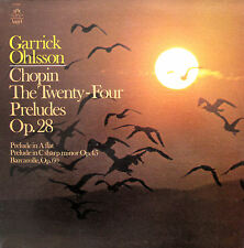 Garrick Ohlsson Chopin 24 Preludes 1974 NM/EX Angel S-37087