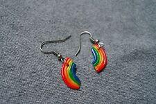 Rainbow Earrings Sweet Sweetness Handmade Jewellery Polymer Clay PositiveEnergy