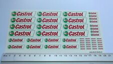 Castrol water transfer decals aufkleber set