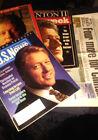 4 RARE VINTAGE ORIGINAL 1990'S PRES. BILL CLINTON ITEMS 1 NEWSPAPER 3 MAGS