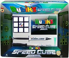 Rubik's Speed Cube Pro Pack by Winning Moves Game Lube Springs Included