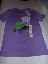 Cat & Jack: Girls Small 6/7 Short Sleeve T-Shirt, I See The Finish Line / New