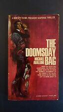"""Michael Avallone, """"Ed Noon: Doomsday Bag,"""" 1969, Signet P4096, VG+, 1st"""