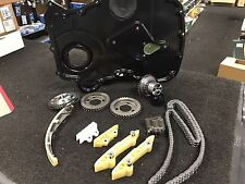 FORD Transit 2.0d 2.4 TDCi DIESEL TIMING CHAIN KIT CON COPERCHIO CATENA INGRANAGGI timinng