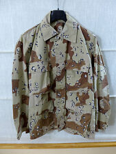#d12 US Desert 6 Colour Chocolate Chip Campo Giacca mim COAT COMBAT tg. SMALL
