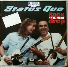 More details for status quo rock till you drop 1992 tour programme + windsor hall dec 1992 ticket