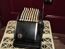 Vintage Hedman Company Series 1000 F & E Check Protector bakelite