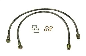 Fits 04-12 Canyon Colorado: Stainless Steel Brake Line Front Skyjacker FBL48