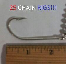 25 Eagle Claw 7/0 Seaguard Chain Rigs (L991B-7/0) EB190202