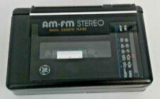 General Elec Personal Stereo AM/FM Radio Cassette Player Model 3-5473B