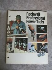 Vintage 1977 Rockwell Professional Power Tools Catalog AD-3200 2/77 8Y (17)