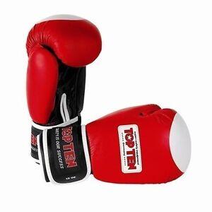Boxhandschuhe TOP TEN WAKO 10oz. Wettkampf. Kickboxen. Boxen. Muay Thai.