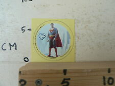 STICKER,DECAL SUPERMAN LOGO CHRISTOPHER REED MOVIE ? DC COMICS 1978 SET 2