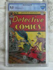 DETECTIVE comics 96 batman  cover CGC,cbcs  5.0 white pages 1945