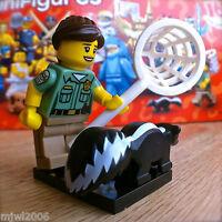 LEGO 71011 Minifigures SERIES 15 ANIMAL CONTROL #8 SEALED Minifigs Skunk Catcher