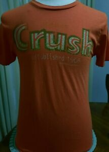 Orange Crush T shirt Medium 38 Chest  Dr. Pepper/Seven UP