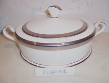 NEW Noritake CONTINENTAL COBALT Covered CASSEROLE Round Bowl - NEW IN BOX