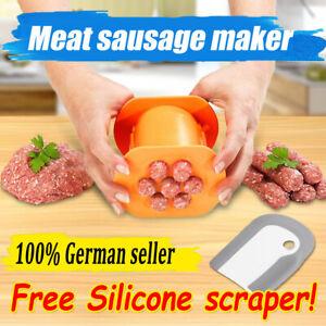 Cevapcici Presse schnell & einfach für Burger Gnocchi Kroketten Churros Gebäck