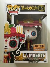 Funko POP! Livre de vie #94 la muerte (Hot Topic Exclusive brille dans le noir)