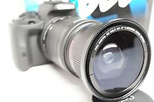 Ultra Wide Angle Macro Fisheye Lens for Canon Eos Digital Rebel 18-135mm Is Stm