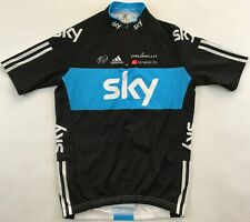 SKY Procycling 2012 black Adidas Pinarello cycling jersey shirt Radtrikot Small