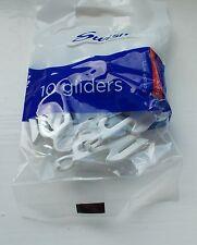Swish Sologlyde Gliders White, Pack of 10 new
