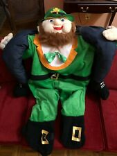Adult Carry Me Buddy Ride On A Shoulder Leprechaun Costume Mascot