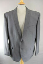 BRAND NEW GREY PINSTRIPED JACKET: 48 INCH CHEST XXL (REGULAR FIT)
