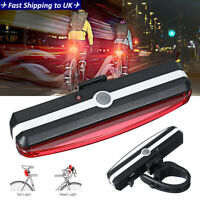 Bike Bicycle Cycling Head Front Rear Lights MTB Tail Lamp USB Rechargeable IE