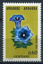 TIMBRE ANDORRE FRANCE NEUF  N° 245  **  FLEURS GENTIANE
