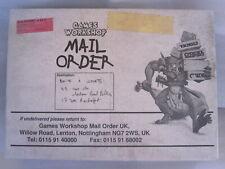 RARE BOITE FRANCAISE ÉCHANTILLON MAGASIN GAMES WORKSHOP WARHAMMER NEUF 1998