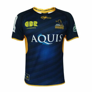 ACT Brumbies Men's Home Jersey  - Sizes L - 3XL  **SALE PRICE**