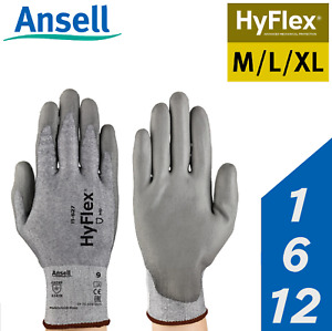 Ansell Hyflex Dyneema Cut Proof Resistant Kitchen Chef Food Industry Work Gloves