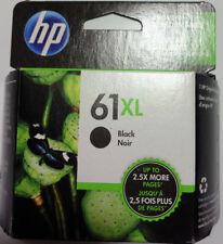 Brand New Retail Package HP 61XL Black High Yield Ink Cartridge Exp 2020