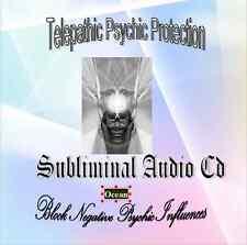 Telepathic Psychic Protection / Block Negative Psychic Influences Subliminal CD