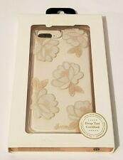 Sonix Clear Coat Case for iPhone 8 Plus & iPhone 7 Plus - Florette Champagne