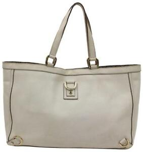 Gucci Leather Abbey D-Ring Tote 866181