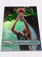 TIM DUNCAN SPURS 1997-98 Wheels ROOKIE Shooting Stars SP ROOKIE CARD