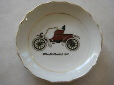 """VINTAGE OLDSMOBILE RUNABOUT 1903 CAR JAPAN SMALL DISH, 3 5/8"""" DIA X 1/2"""" HIGH"""