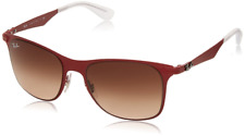 Authentic RAY-BAN Wayfarer 3521 - 16213 Sunglasses Red/Brown Gradient *NEW* 52mm