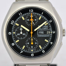 Auth Tutima Military Chronograph Ref.798 Day&Date Automatic Men's Watch M#70982