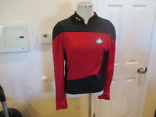 Rubie's Star Trek The Next Generation Deluxe Shirt Costume Red Men's Small long