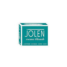 Jolen Creme Bleach Lightens Dark Facial Hair Improves Skin Fairness 18g