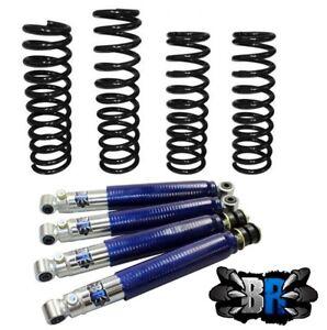 """Suzuki Jimny 2"""" / 50mm Black Raptor Premium Suspension Lift Kit LHD Petrol"""