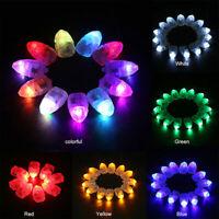 30Pcs Mini LED Lamp Bulb Balloon Light for Paper Lantern Wedding Party Decor
