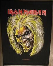 IRON MAIDEN RÜCKENAUFNÄHER / BACKPATCH # 11 KILLERS HEAD