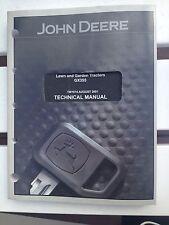 John Deere Technical Manual GX355 Lawn and Garden Tractors
