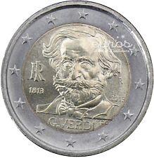Pièce 2 euros commémorative ITALIE 2013  - GIUSEPPE VERDI